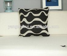 Creative Simple Waves printed cushion