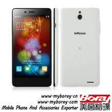 InFocus M512 super slim touch smart phone wifi multi sim slim qwerty keypad cheapest dual sim slide cell phone