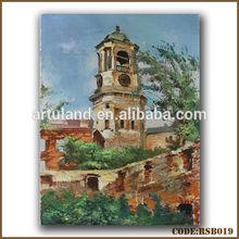 Handmade art supply oil painting from photo