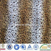 shu fleece compound velboa plush fabric
