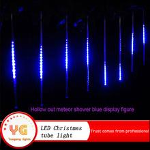 0.5m 8pcs/set 240Led China product hot sale holiday tree decoration outdoor led tube light