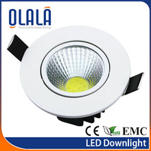 new production 80degree milky diffuser led downlight 8w