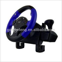 KETENG TwinWheel F1 Vibration Feedback F1 Racing Wheel for PS2 and PC
