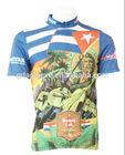 Professional Custom Cycling Tops and Shorts Sublimation Printing