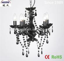 2014 NEW European-style Black crystal chandelier hot sale(NS-120148D)