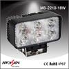 Hot sale 9-30V DC volt 18W led driving lights led work lamps Epistar18W tractor led worklight