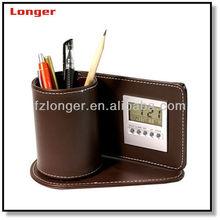 Promotion Digital Clock Pen Holder LG-B011