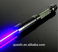 Genuine pure blue laser light power blue light flashlight cigarette lighter pen