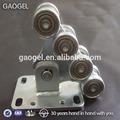 fabricación de mecanizado de zinc de garaje rodillo de la puerta