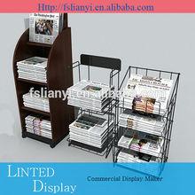Professional showcase newspaper stand