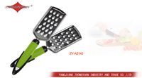 Bright color zester &vegetable grater with PP handle as seen on tv