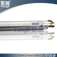 Yongli Long Life lazer tube glass cutting equipments co2 laser tube for cnc laser cutting