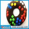 Promotional soft pvc personalized cookie fridge magnet