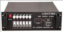 professional led stage light 6 Group Dimmer Pack