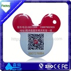 Passive Unique Non-contact Pigeon NFC Ring Tag for RFID Animal Tracking and Management System Cheap in Manufacture