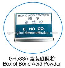 High Quality Box Of Boric Acid Powder