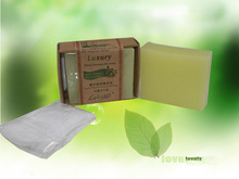 Herbal Green Tea Repair Scars Essential Oil Whitening Vegetation Beauty Bar Soap