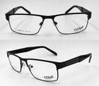 2014 new design good quality half rim carbon fiber metal optical frame