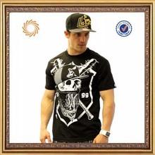 Custom high quality black mens t shirt fashion