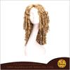 YW012 Kanekalon film star dark blonde wig