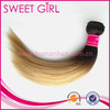 Popular ombre color hair weft