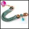 silver bracelet gemstone beads dragon veins agate beads 24k gold bangles dubai jewelry Gold turquoise bracelet