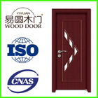 High Quality glass insert wood interior door