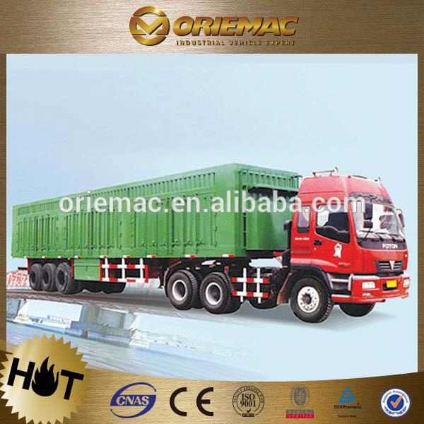 CIMC coal semi-trailer 20t 4x4 trailer for sale