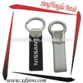 lembranças personalizadas metal couro chaveiro