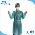 cirúrgica descartável vestido de enfermagem do hospital e uniformes
