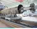 La tubería interna de la superficie de la máquina de granallado/interior de tubos de acero granallado máquina/granallado máquina de limpieza