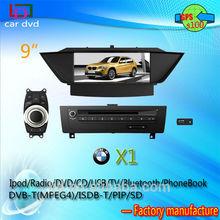 LJD car dvd player for X1 built-in navigation/BT/AM/FM/TV/raido