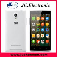 "Ultra slim 5.0""MT6582 Quad Core THL T6S Android 4.4.2 smart phone 8MP Camera 1GB RAM 8GB ROM 3G WCDMA Dual SIM AGPS"