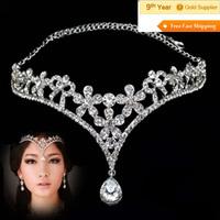 Factory-selling India AB Crystal Rhinestone Bride Tiaras Crown
