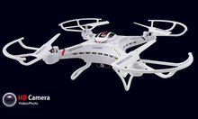 DFD F183 2.4G 4CH 6Axis RC Helicopter Quadcopter, RC Helicopter Drone with HD Camera