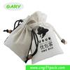 Custom Reusable Promotional Cotton Linen Drawstring Bag