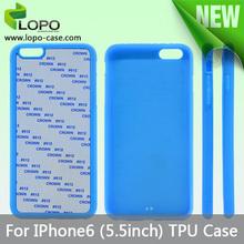 Mix colors phone case for iPhone 6 plus for sublimation case