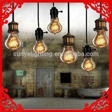 Retro Antique Globe Light Bulb E27/E26/B22 decorative colored glass chandelier CE ROHS