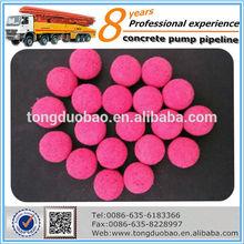Manufacturer supplier concrete rubber ball
