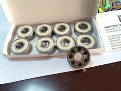 Super precision bearings Bones ceramic bearing skateboard bearing
