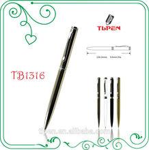 Whole shining chrome twist promotional gift pen TB1316