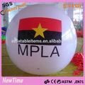Personalizado inflável balão com bandeira