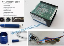 C7L LED ultrasonic scaler dental unit prices 5%-10%discount for trail order