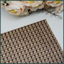 PVC woven mesh decorative printing hot saling placemat and coaster
