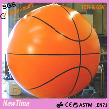 custom inflatable giant basketball balloon