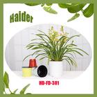 double color PP plastic mini solar flower pot
