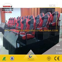 5d cinema factory,High quality 9d cinema kino ,6/9/12 DOF Electric/Hydraulic System