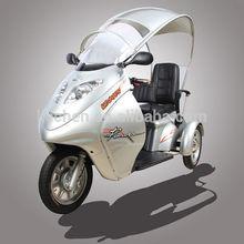 Newest Luxury three wheel electric adult tricycle for elder kuma K2