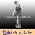 tamanho natural de mármore estátuas senhora ntms132