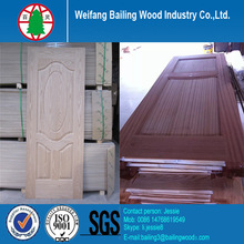 Good design door skin , wood veneer door skin , melamine door skin